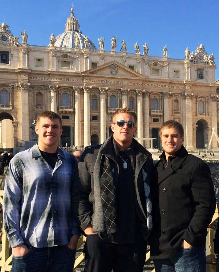 The Watt Brothers in Rome