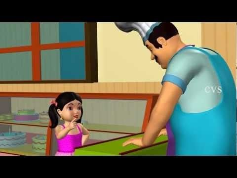 Pat a cake Pat a cake | Song for Kids | 3D Animation | Nursery Rhymes for kids. This videos is most funable and lessonable for kids