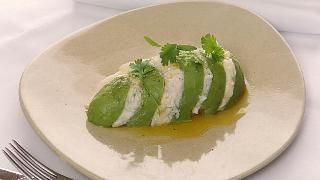 Matt Moran's crab and avocado