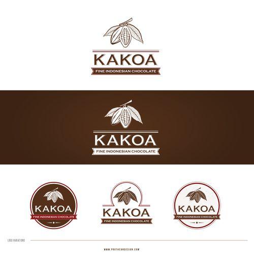 Create the next logo for Kakoa Diseño de Arthean