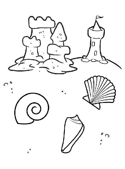 Best 25+ Beach coloring pages ideas on Pinterest | Summer coloring ...
