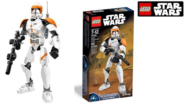 Ik laat je in het filmpje Clone Commander Cody van Lego Star Wars zien. Je kan dit figuur zelf bouwen.