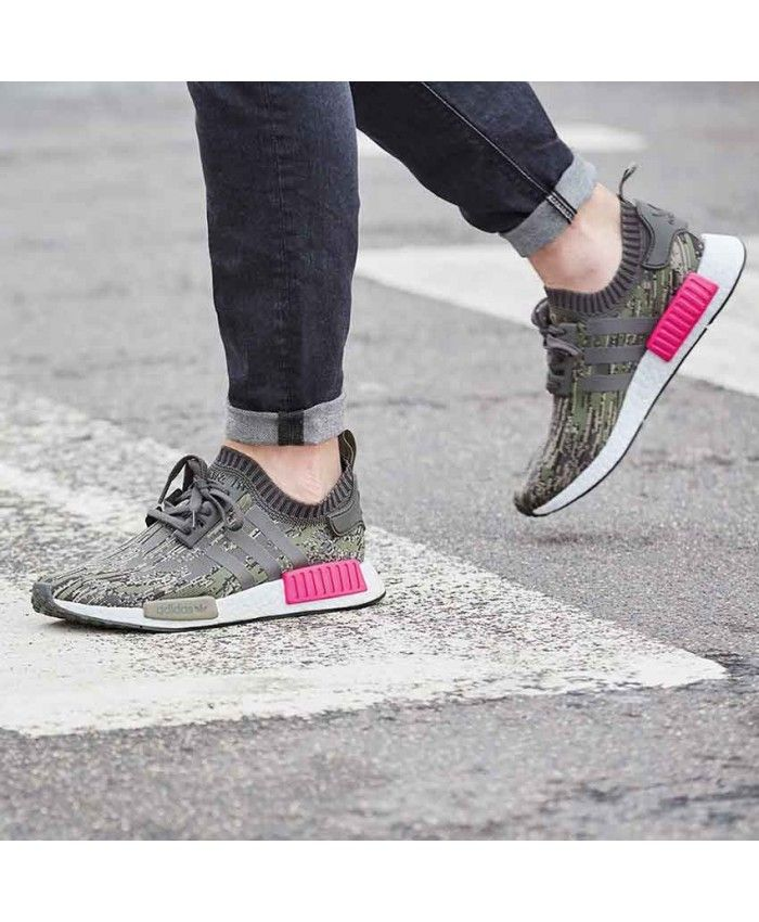 e28575cd8 Adidas Nmd R1 Green Glitch Camo Green Sale