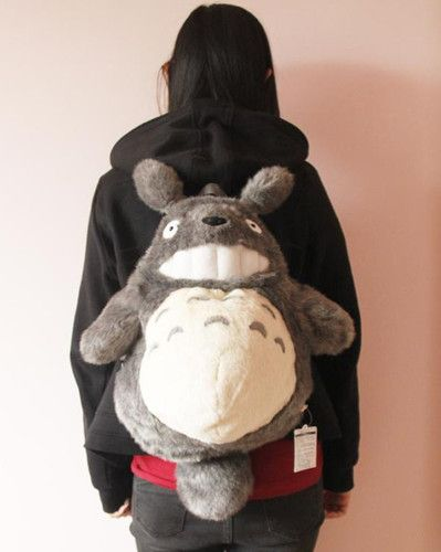 Gasp! What's this?! A Totoro backpack?! Oh, wait. I already have one. :D