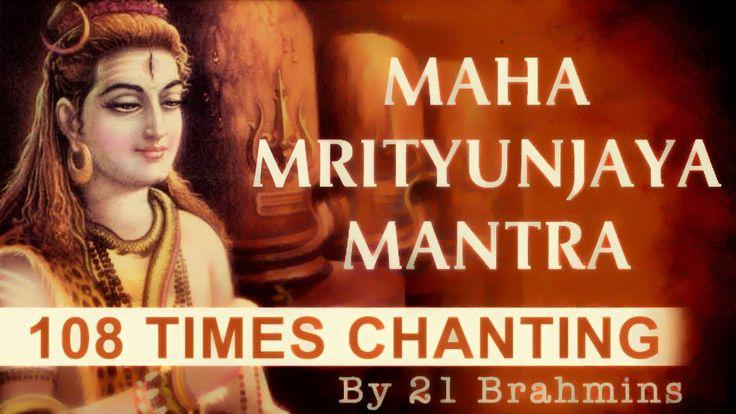 Maha Mrityunjaya Mantra   108 Times Chanting By 21 Brahmins