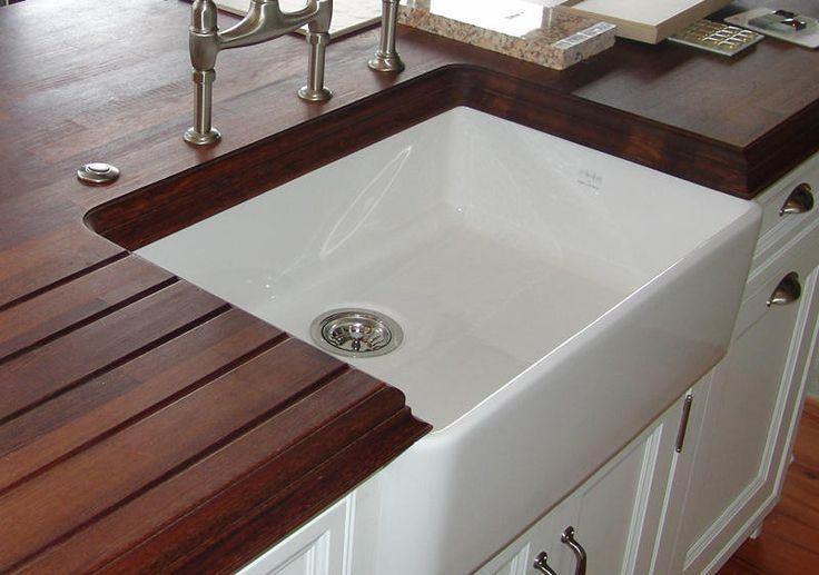 Inch White Kitchen Sink