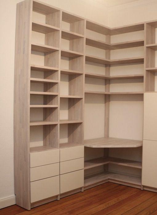 32 besten b cherregale bilder auf pinterest die t r funktional und platz. Black Bedroom Furniture Sets. Home Design Ideas