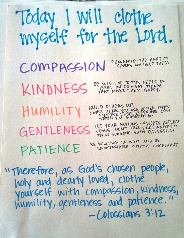 IMAGES FOR COLOSSIANS 3;12 | ... Colossians 3:12. Here are the definitions that I came up with for our