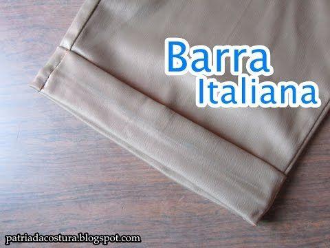 Como fazer a barra italiana