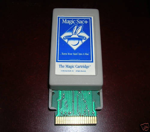 Magic Sac cartridge for the Atari ST - Mac emulation (by Gadgets by Small)