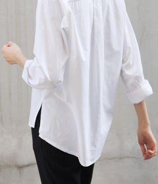 White oversize shirt                                                       …