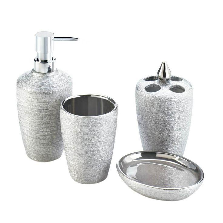 Best 25 Bathroom Accessories Sets Ideas On Pinterest  Bathroom Classy Bathroom Accessories Sets Design Inspiration