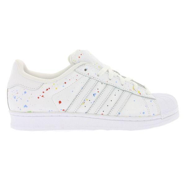 adidas Originals Superstar Schuhe Damen Sneaker Turnschuhe Weiß B42618