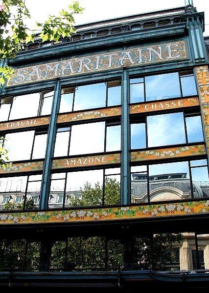 La Samaritaine, former department store, Paris