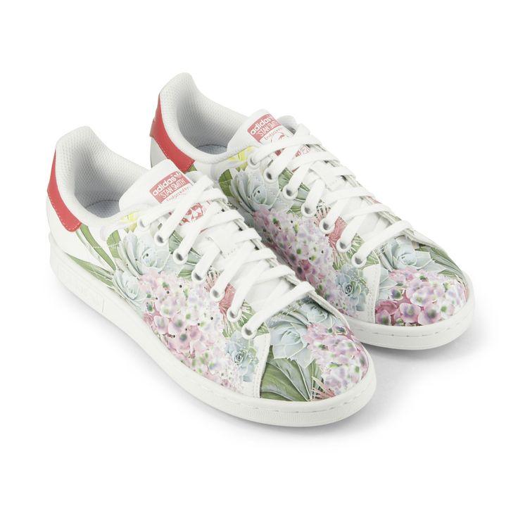 ... adidas stan smith flowers sneakers stan smith blanche avec fleurs - Recherche Google ...