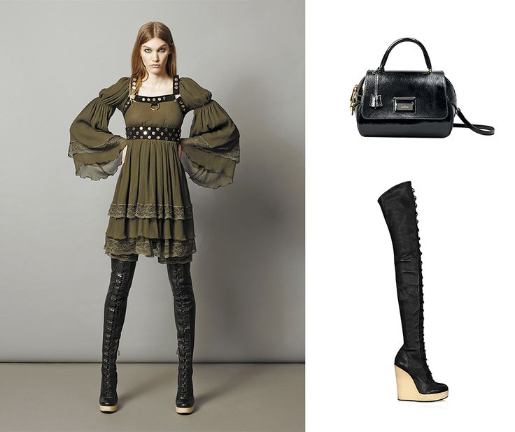#‎HOGAN‬ Mary Jane boots and Shoulder bag from the Fall-Winter 2015/16 Women's Collection.