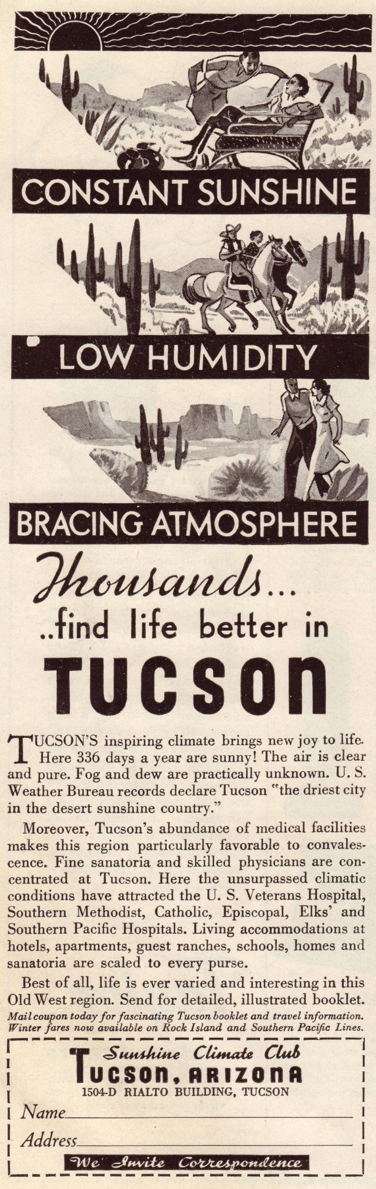 22 best tucson history images on pinterest tucson arizona 1935 tucson aiddatafo Image collections