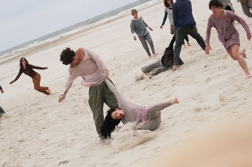 #dance on the beach