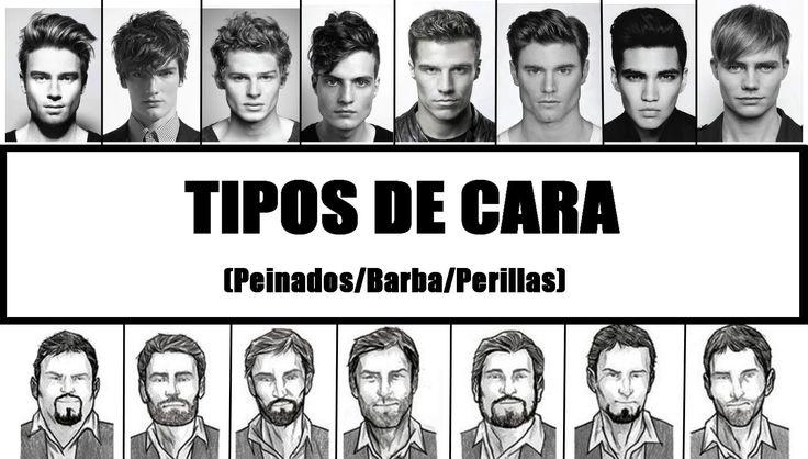 Tipos de cara Hombre - Peinados y cortes de pelo - Tipos de barba según ...