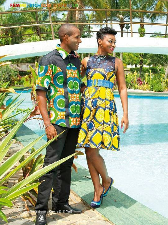40 Best African Print Couples Images On Pinterest