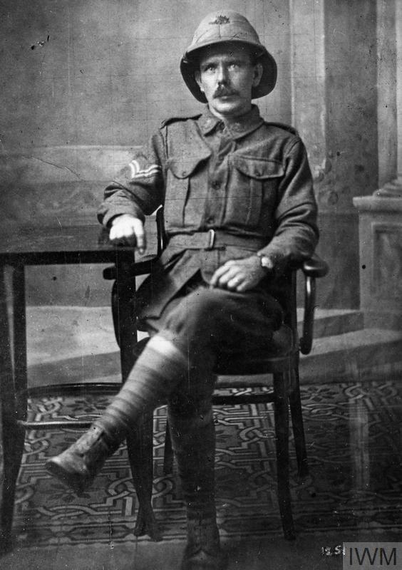 WWI, 10 March 1917; Cpl James Moran KIA, France. ©IWM HU 125868