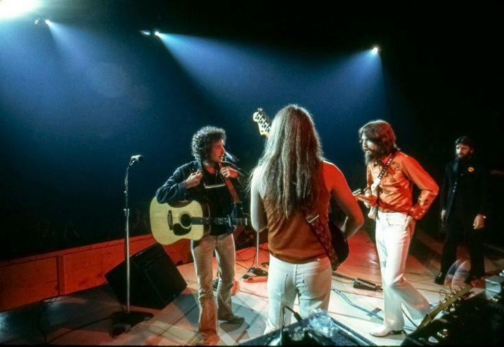 Bob Dylan George Harrison Leon Russell Bangladesh
