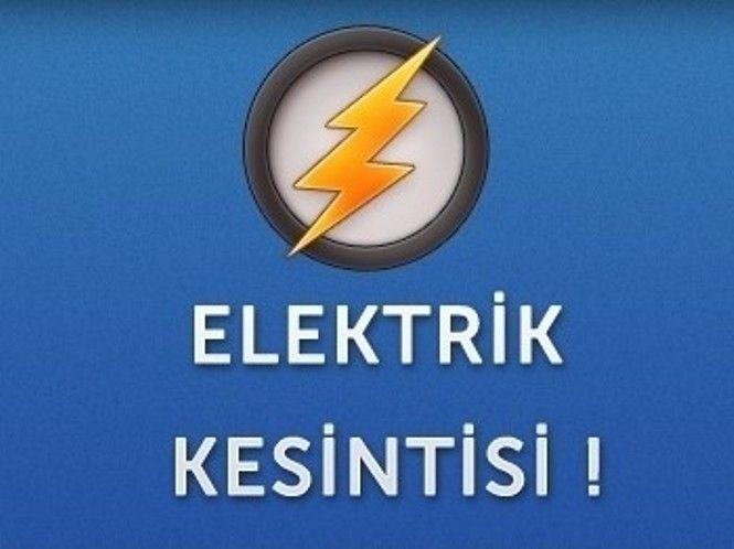 Bayramiç ve Lapseki ilçemizde Elektrik kesintisi..