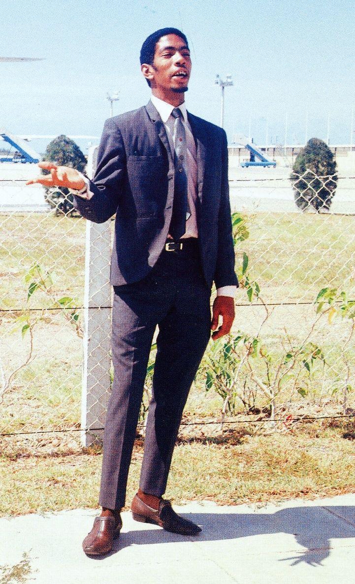 1969 Jackie Mittoo at Kingston airport. London skinhead blog at https://creaseslikeknives.wordpress.com/