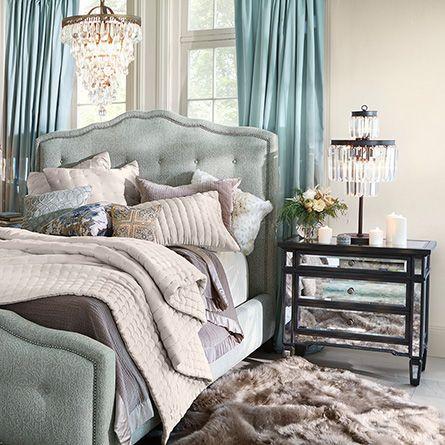 132 Best Bedrooms Images On Pinterest Bed Furniture