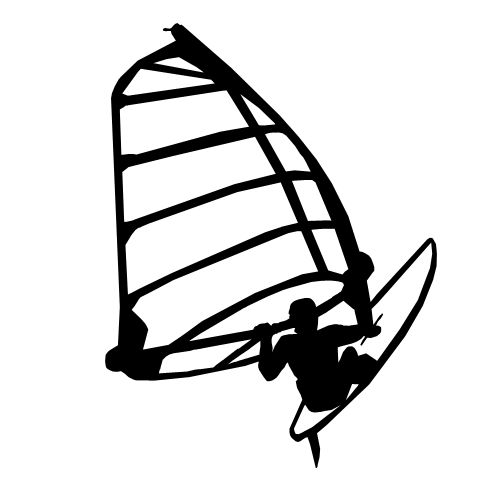 windsurfer-tattoo-design