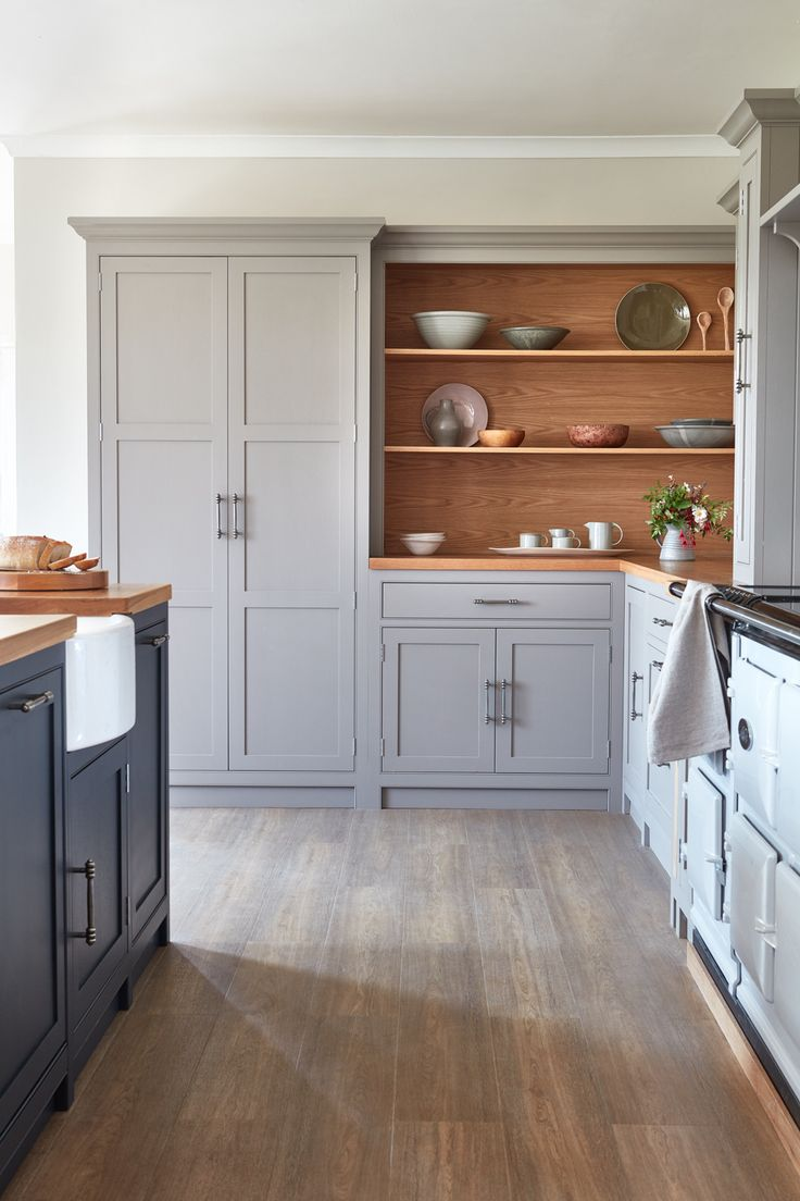 lb transitional shaker style light gray painted perimeter cabinets dark grey painte home on kitchen decor grey cabinets id=56560