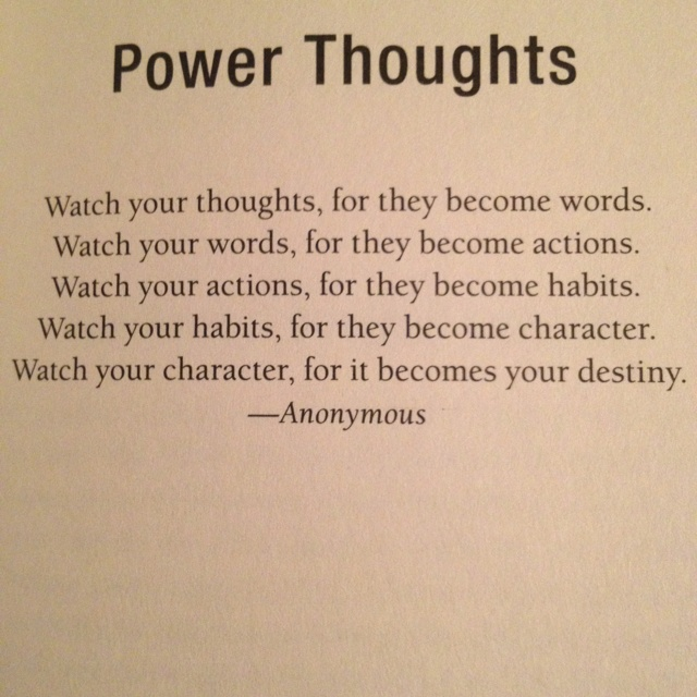 the power of thought pdf
