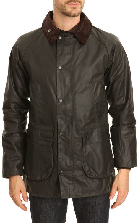 Stay warm and dry this Fall!  Barbour = The best!  BARBOUR Parka Bedale Slim Vert Bouteille