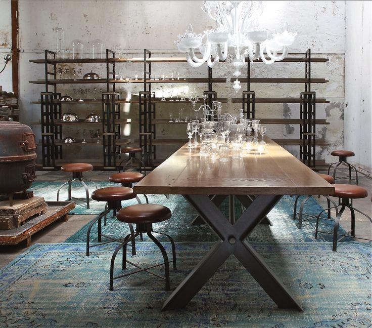 79 Best Möbel \ Einrichtung Im Industrie Design Images On   Moderne  Esszimmer Mobel Roche Bobois