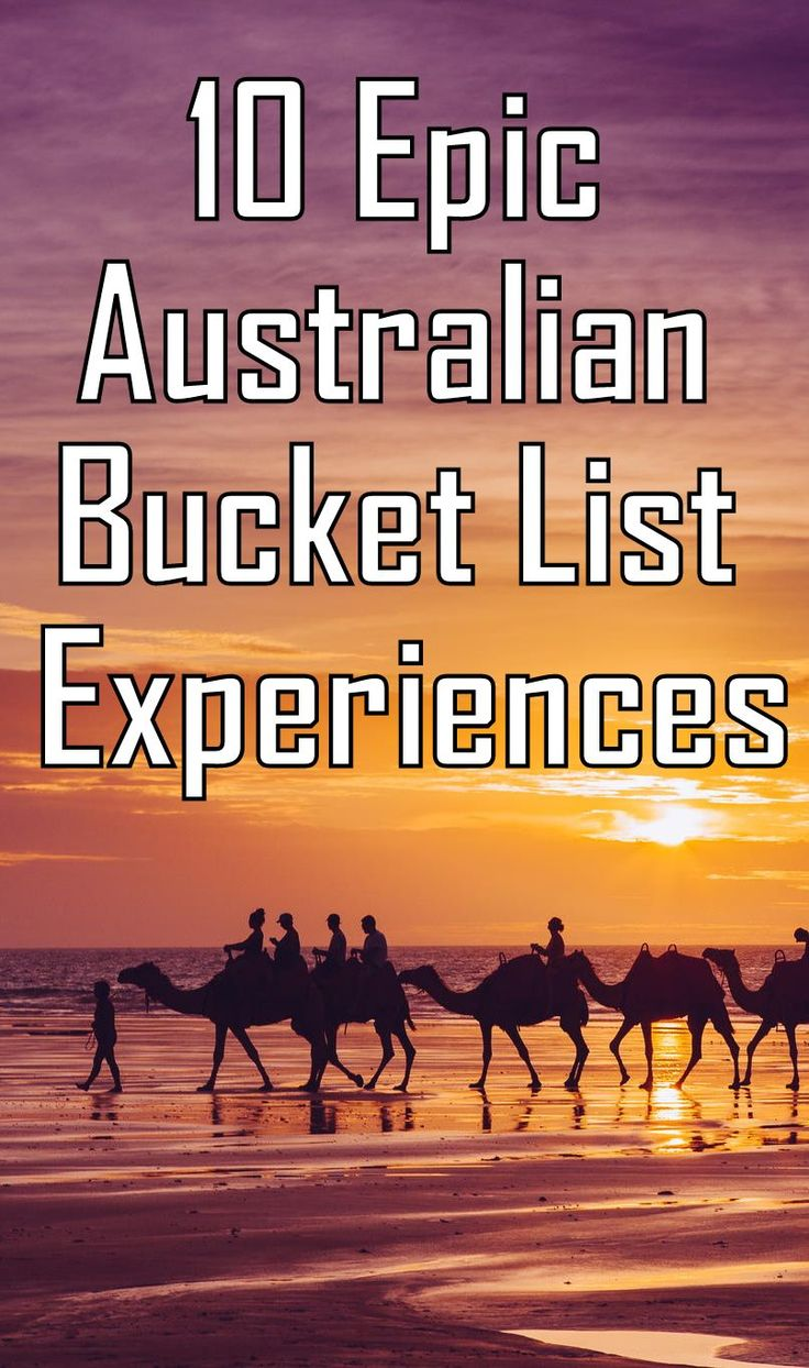 10 Epic Australian Bucket list Destinations!! ---> http://www.mappingmegan.com/australian-bucket-list-experiences/
