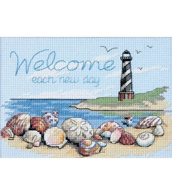 Dimensions Welcome Each New Day Mini Counted X-Stitch