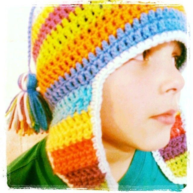 Gorro coya crochet