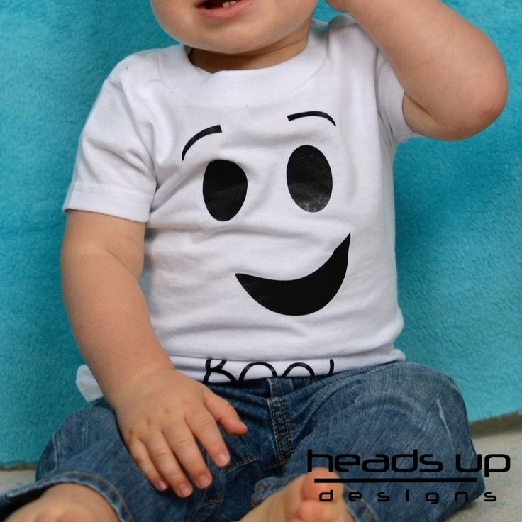 Baby Ghost Shirt Ghost Costume  Baby Costume  by headsupdesigns, $14.95