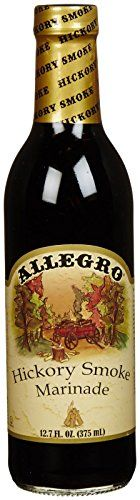 Allegro Hickory Smoke Marinade  127 Ounces * Click image to review more details.