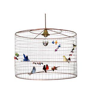 Verlichting : vogellamp hangend