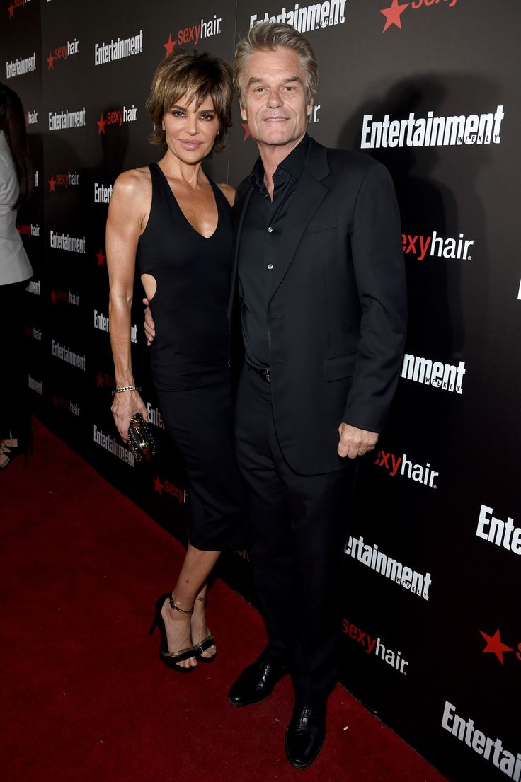 Lisa Rinna and Harry Hamlin attend Entertainment Weekly's celebration honoring the 2015 SAG Awards n... - Dimitrios Kambouris/Getty Images North America