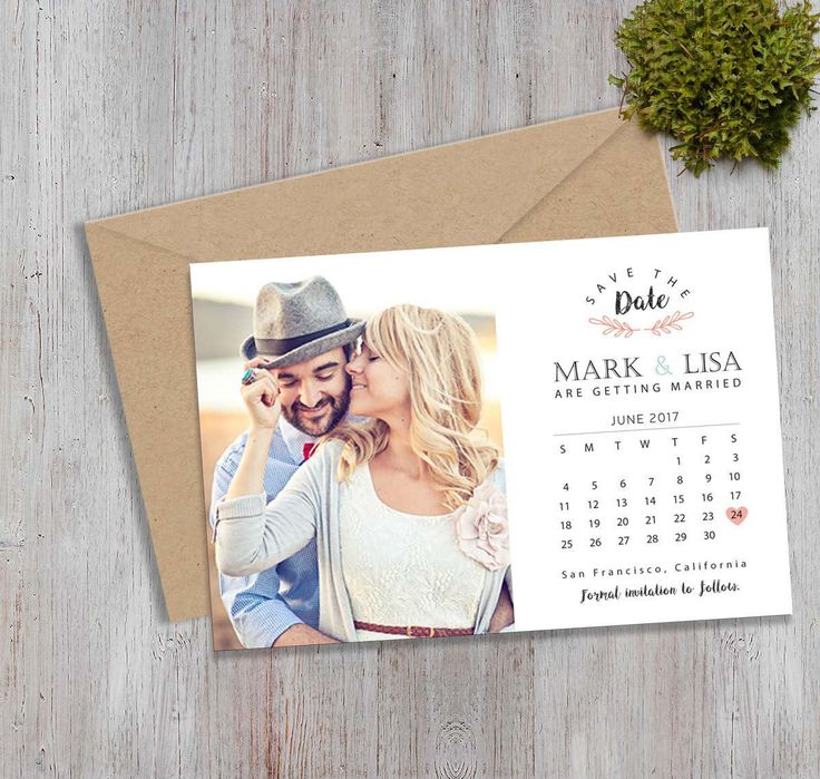 cruise wedding save the date announcement%0A SaveTheDate postcard  Wedding Announcement Printable Save the Date   Digital File
