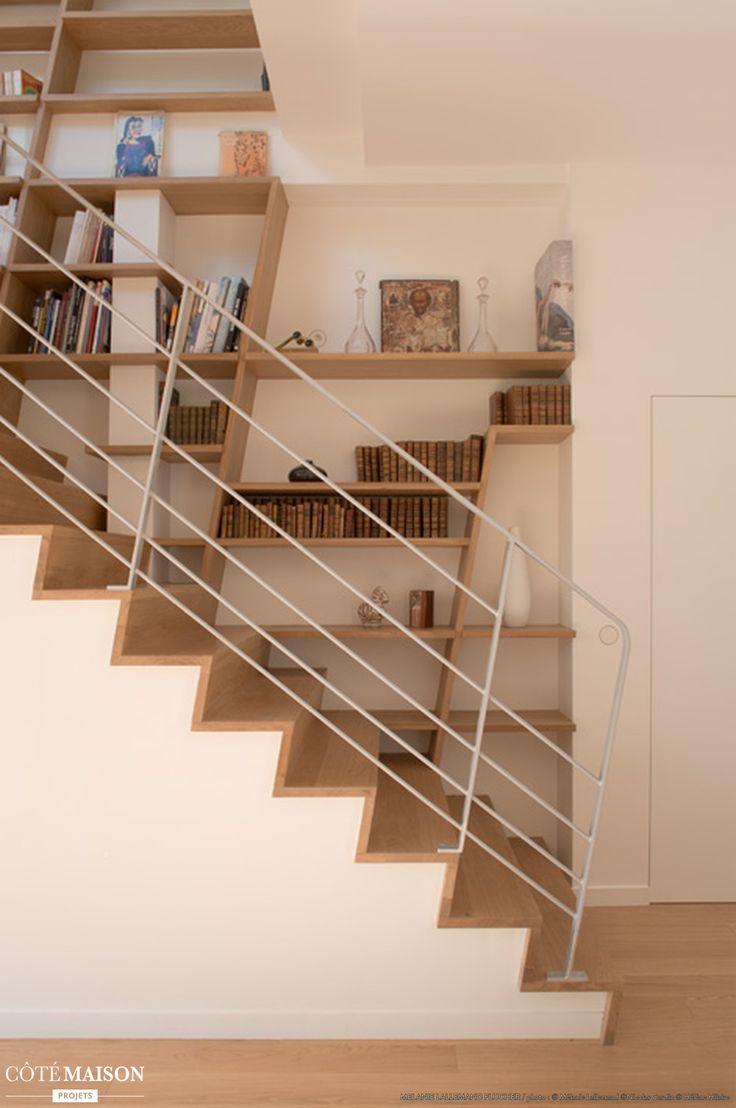 Un escalier aux lignes épurées et design