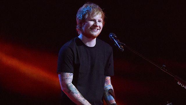 Ed Sheeran Reveals Friendly Competition with Adele, Hopes to Break Her 20 Million Album Sales Record: #adele #edsheeran