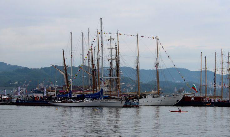 Tall Ships in the port of La Spezia