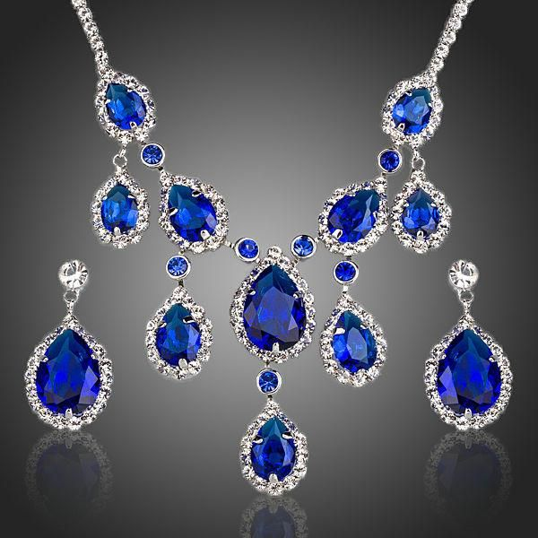 Intense Blue Jewelry Set