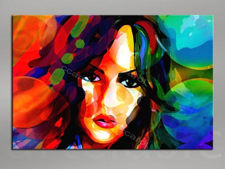 obraz na płotnie 120x80 abstrakcja 5238 - ccaroll - Wydruki na płótnie