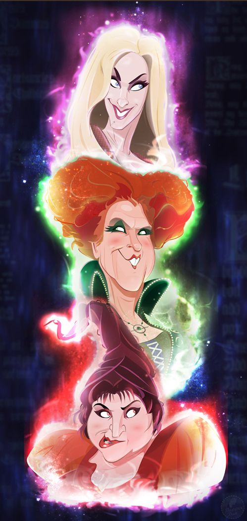 O.M.G. !!!!! Love it! Hocus Pocus...