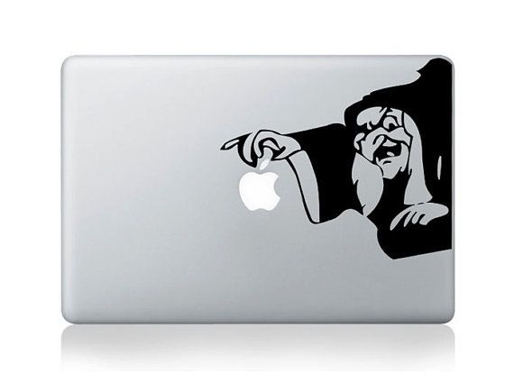 Snow white macbook decal macbook sticker mac decal apple vinyl decal for