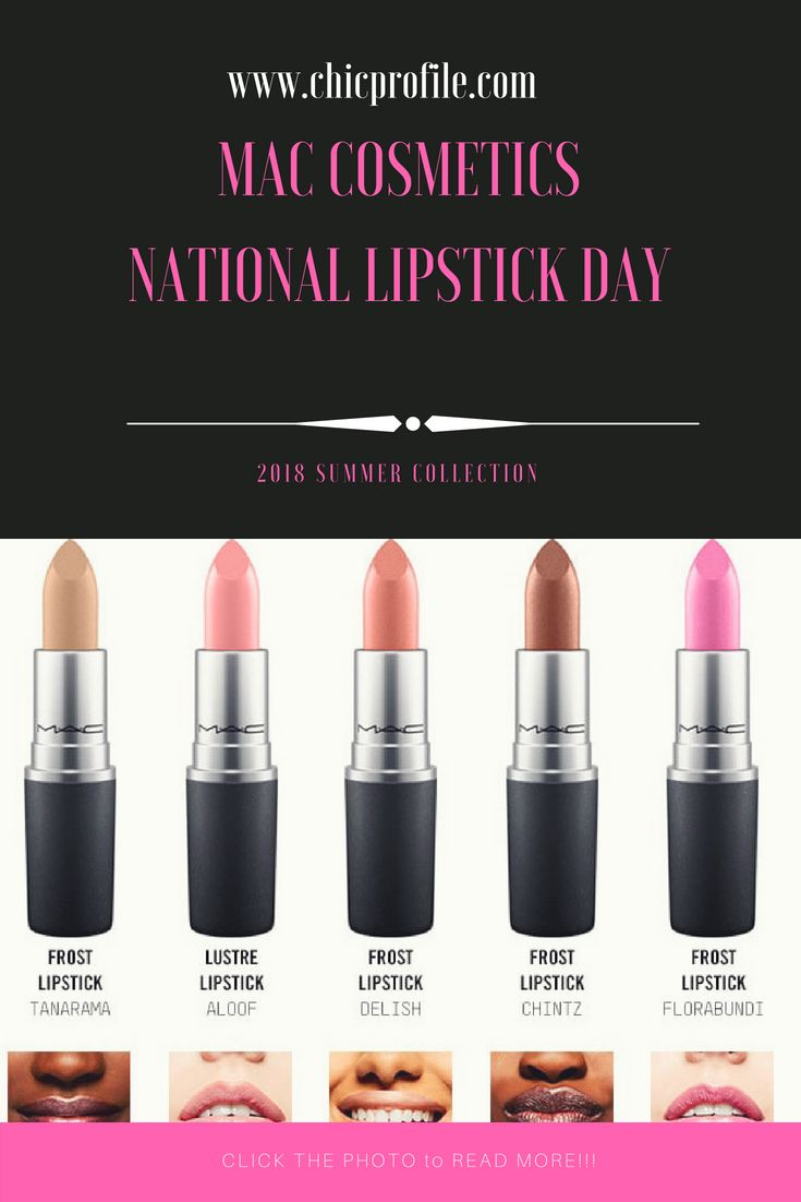 cc6f982236f0 Fun lipsticks facts from MAC! MAC sells more than one lipstick every second  globally. Lipstick is the  1 category for MAC and industry wide for the US  (per ...